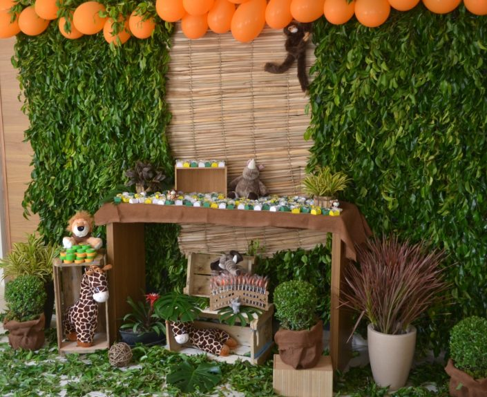decoracao de festa infantil safari